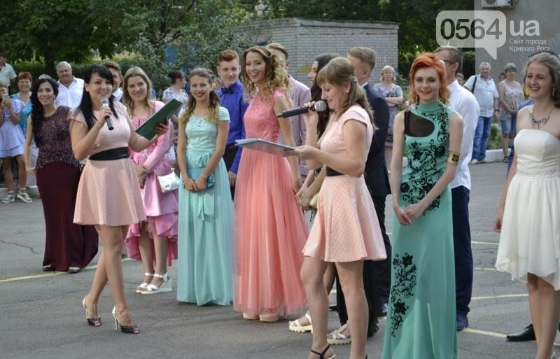 В школах Кривого Рога прошли выпускные вечера (ФОТО), фото-7