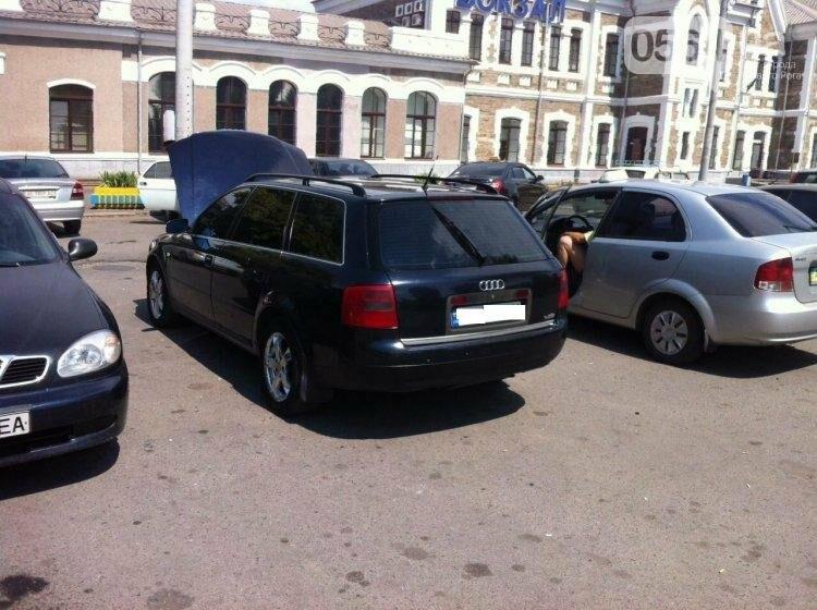 В Кривом Роге 45-летний водитель ездил на  «AUDI A6» с перебитыми номерами (ФОТО), фото-1