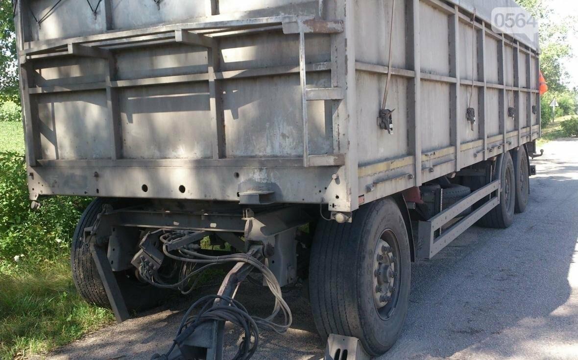 Водителя грузовика из Кривого Рога ограбили прямо на трассе (ФОТО), фото-1