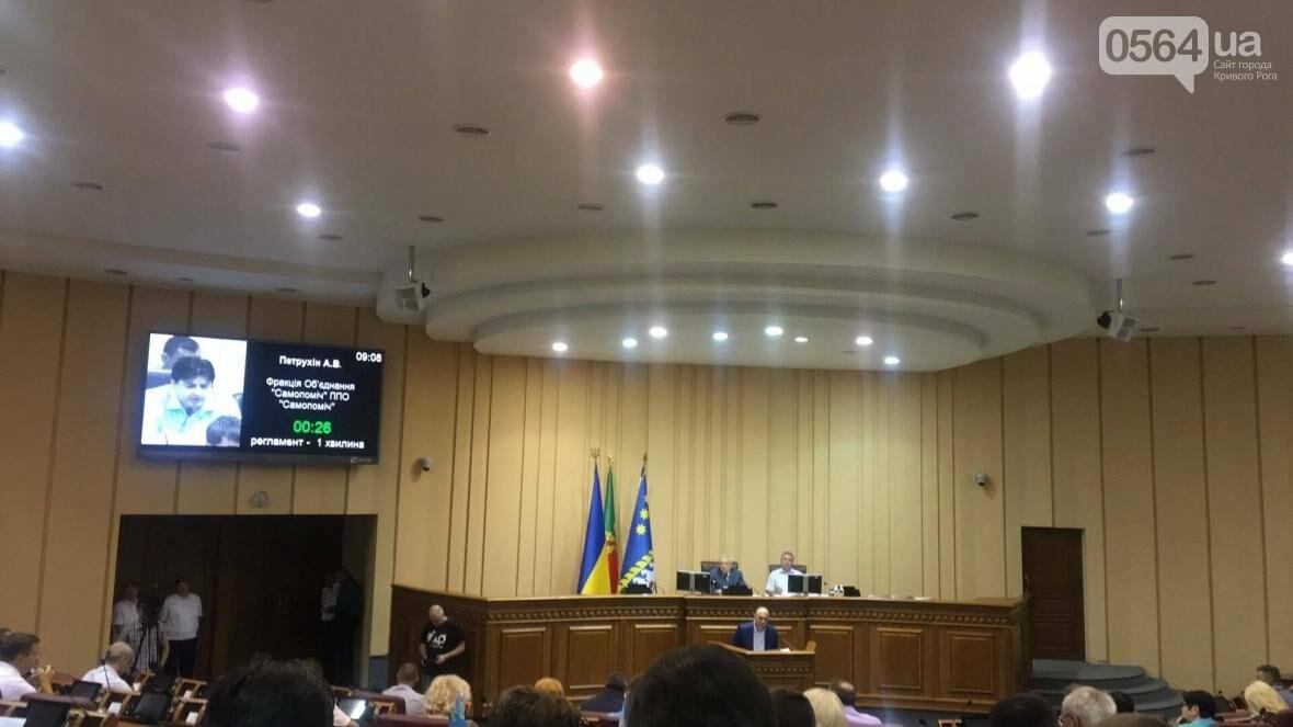 В Кривом Роге проходит пленарное заседание сессии горсовета (ФОТО), фото-9
