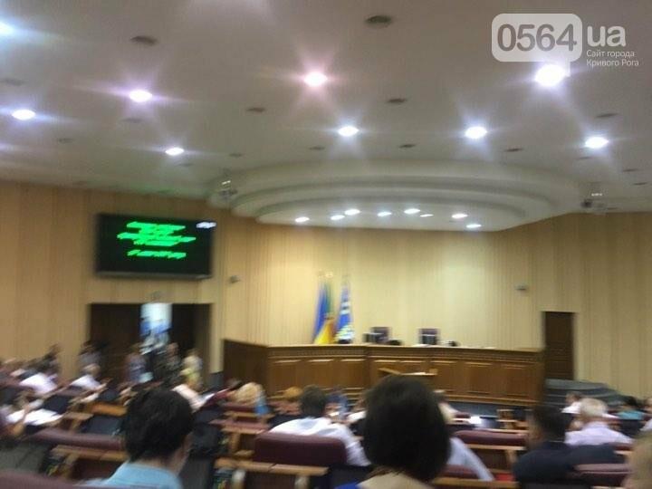 В Кривом Роге проходит пленарное заседание сессии горсовета (ФОТО), фото-2