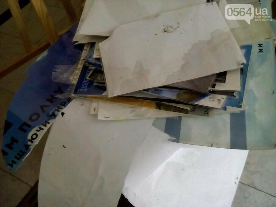 В Днепре со стелы Героев вандалы сорвали фотографии погибших в АТО Героев (ФОТО), фото-2