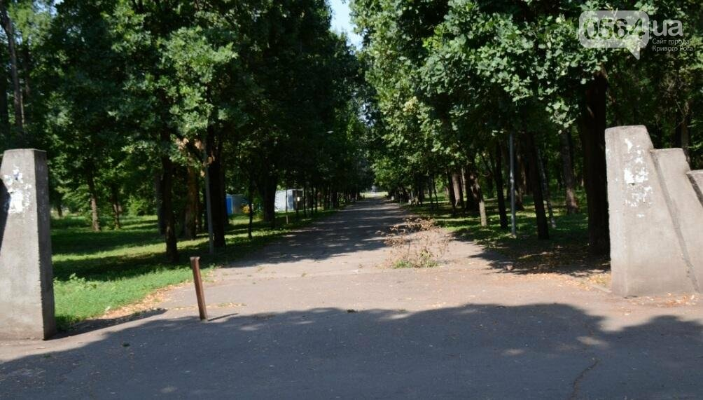 В каком из криворожских парков господствуют тишина, укромность и разруха? (ФОТО), фото-4