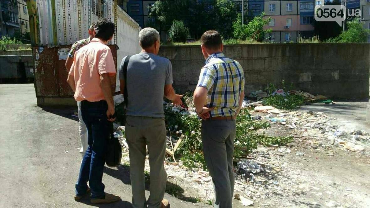 В Кривом Роге проверили мусорные площадки (ФОТО), фото-5