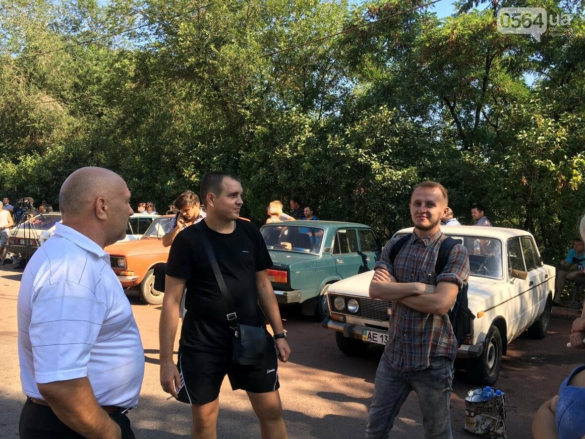 В Кривом Роге на митинге шахтеров требовали зарплату в 1000 евро и обратились к Президенту за помощью (ФОТО), фото-23
