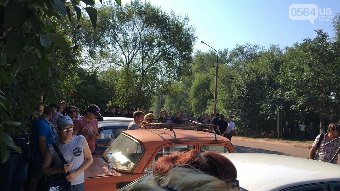 В Кривом Роге на митинге шахтеров требовали зарплату в 1000 евро и обратились к Президенту за помощью (ФОТО), фото-10