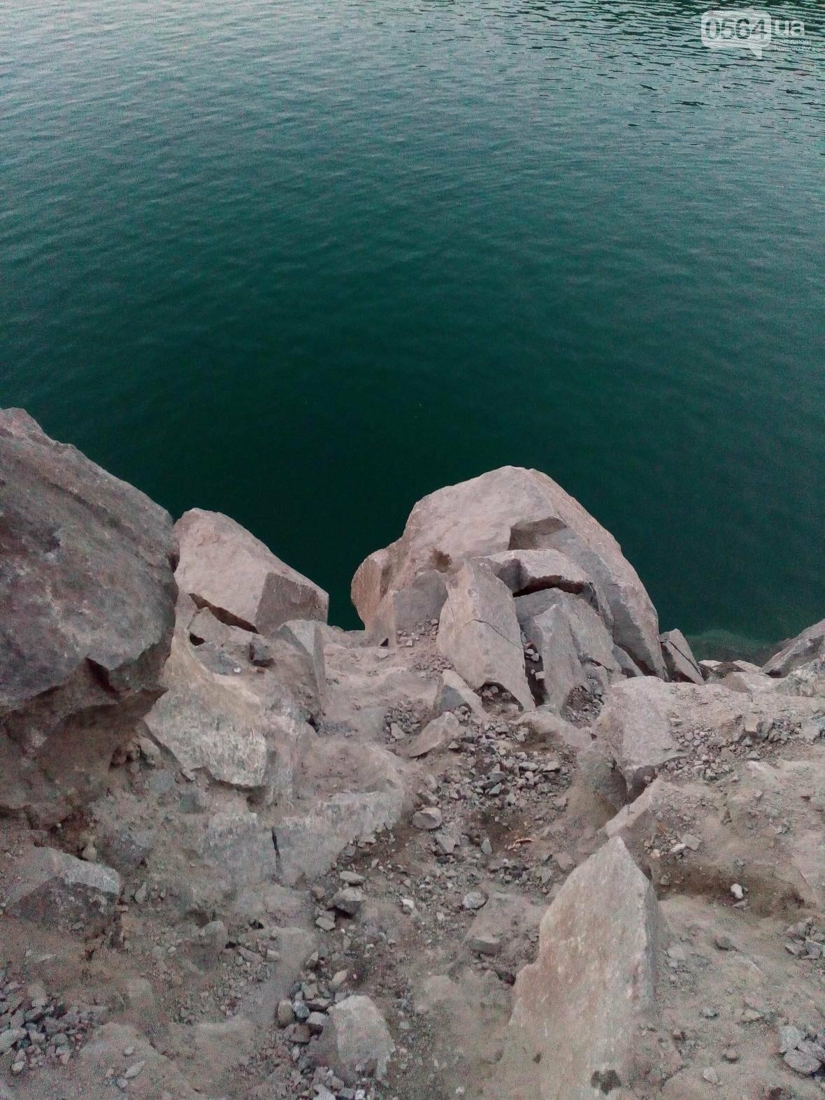 Криворожанин не смог самостоятельно выбраться из затопленного карьера (ФОТО), фото-11