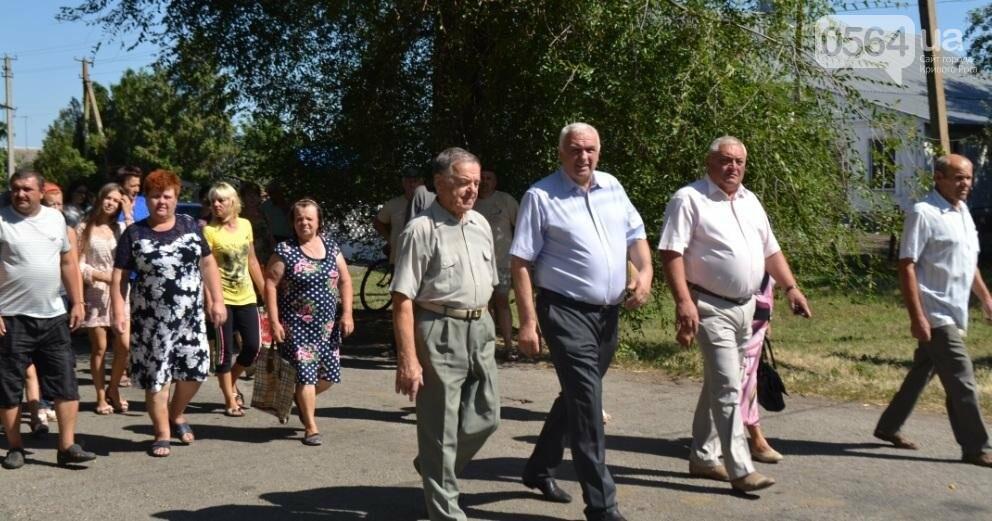 В Криворожском районе торжественно похоронили останки 63-х воинов Красной армии (ФОТО), фото-10