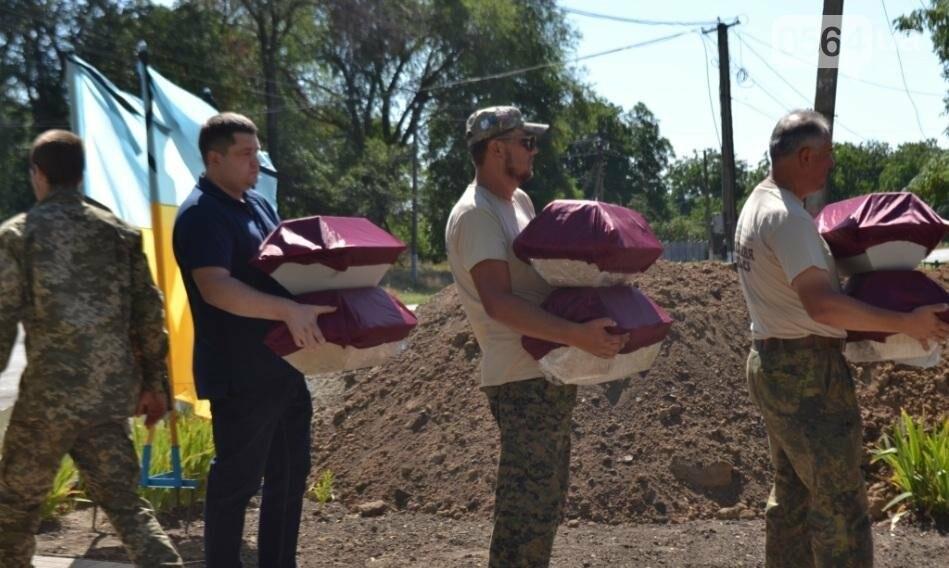 В Криворожском районе торжественно похоронили останки 63-х воинов Красной армии (ФОТО), фото-9