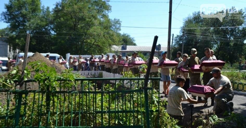 В Криворожском районе торжественно похоронили останки 63-х воинов Красной армии (ФОТО), фото-23