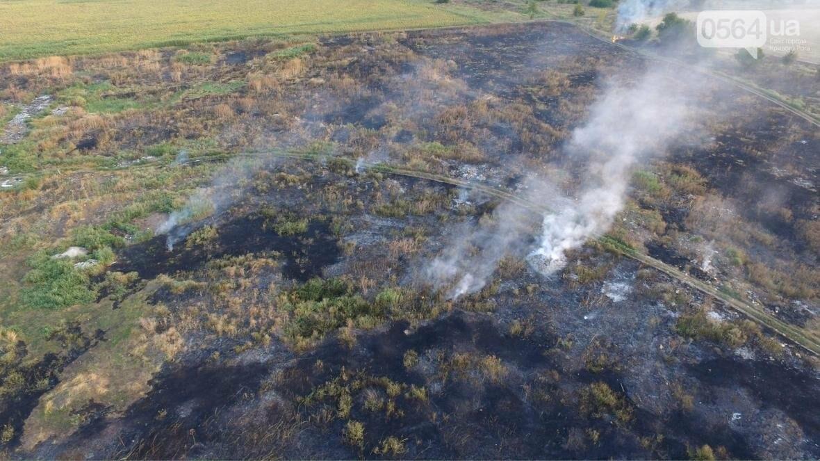 В сети опубликовали шокирующие фото пожаров под Кривым Рогом (ФОТО), фото-12