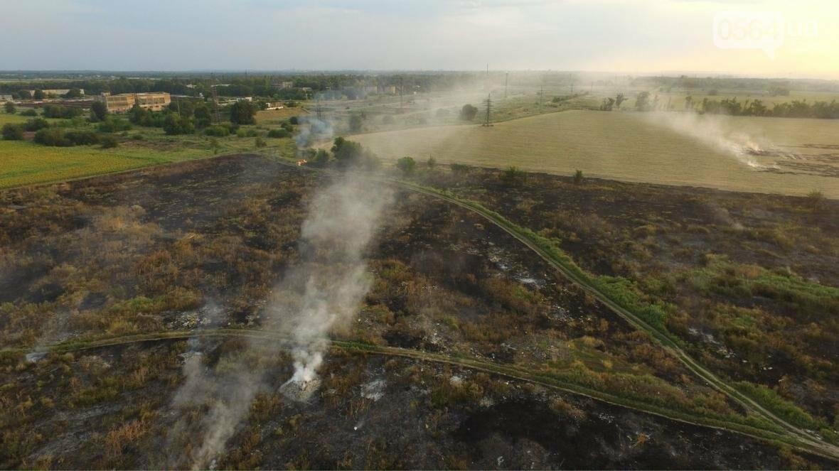 В сети опубликовали шокирующие фото пожаров под Кривым Рогом (ФОТО), фото-5