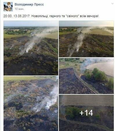В сети опубликовали шокирующие фото пожаров под Кривым Рогом (ФОТО), фото-1
