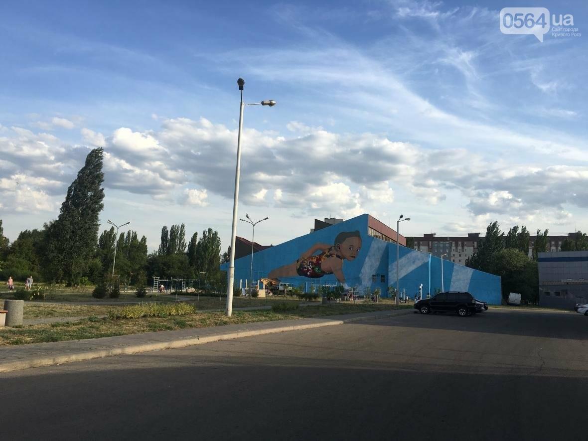 """""""Лысеющий младенец"""": Криворожане шокированы первым муралом в городе  (ФОТО), фото-21"""
