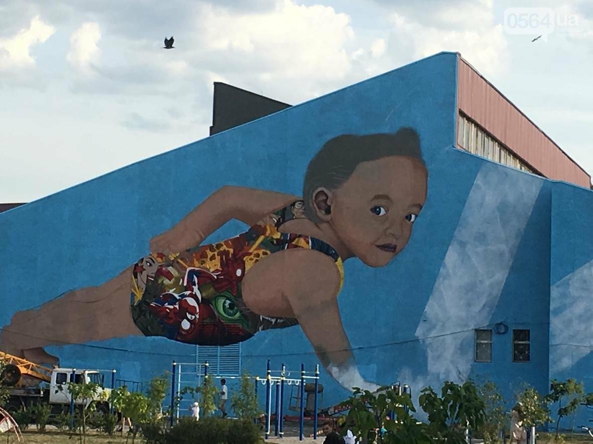 """""""Лысеющий младенец"""": Криворожане шокированы первым муралом в городе  (ФОТО), фото-13"""