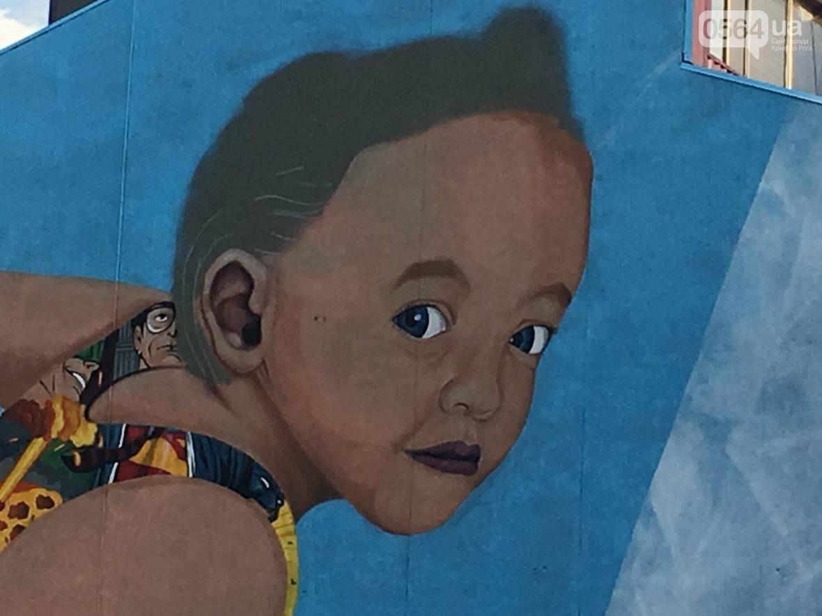 """""""Лысеющий младенец"""": Криворожане шокированы первым муралом в городе  (ФОТО), фото-9"""