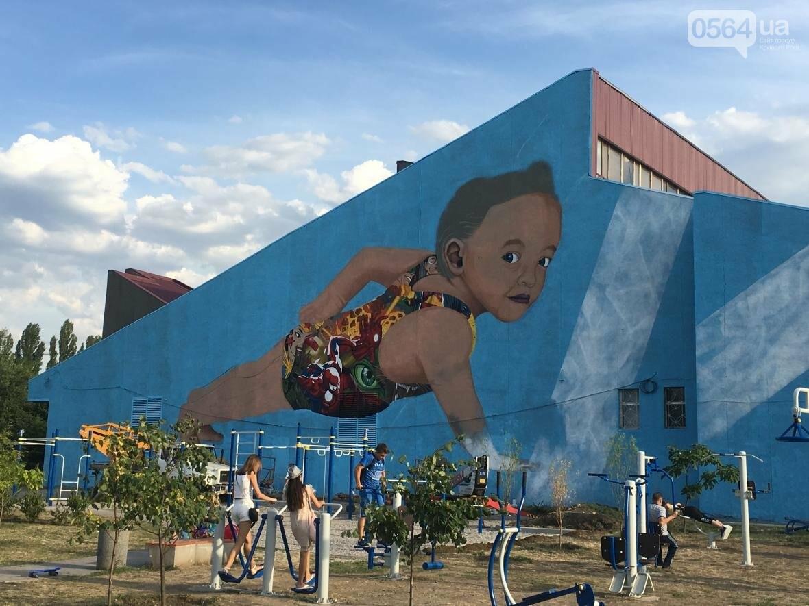 """""""Лысеющий младенец"""": Криворожане шокированы первым муралом в городе  (ФОТО), фото-20"""