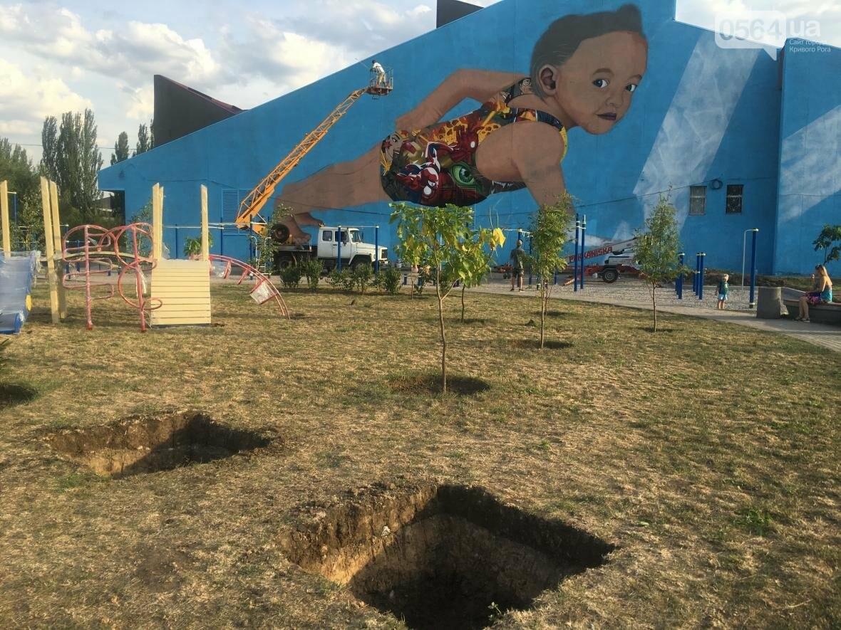 """""""Лысеющий младенец"""": Криворожане шокированы первым муралом в городе  (ФОТО), фото-26"""