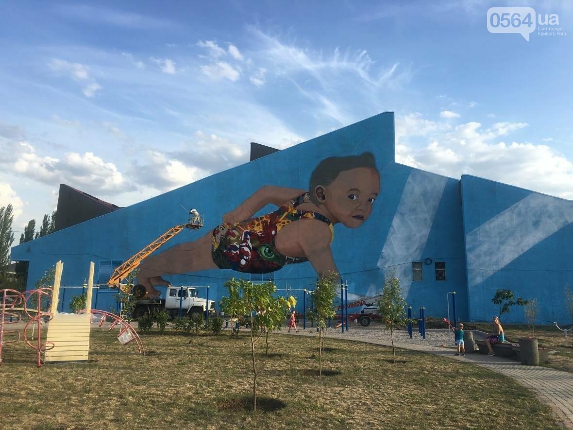 """""""Лысеющий младенец"""": Криворожане шокированы первым муралом в городе  (ФОТО), фото-24"""