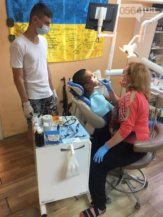 Богиня из Кривого Рога лечит зубы бойцам на передовой (ФОТО), фото-7