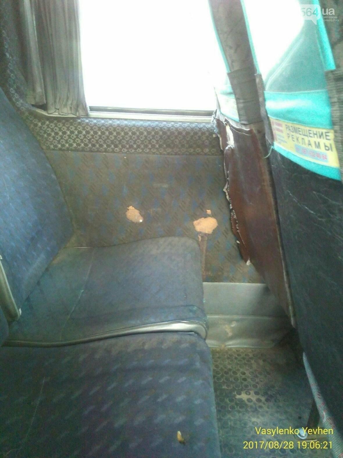Сиденья сломаны, колеса отваливаются, воздуха нет - какие маршрутки перевозят криворожан (ФОТО), фото-2