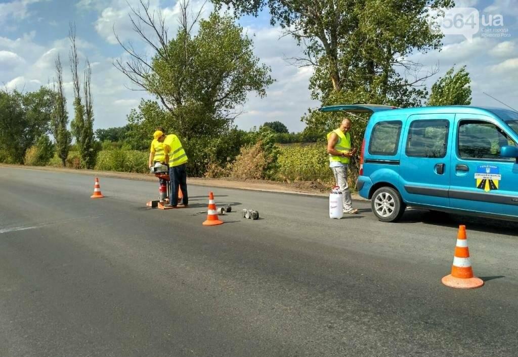Эксперты проверили соответствие дороги на трассе Кривой Рог - Николаев нормам (ФОТО), фото-4