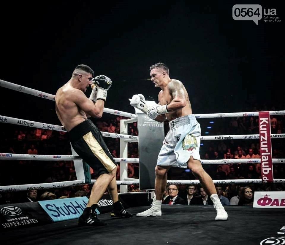 Усик нокаутировал немецкого боксера в четвертьфинале Всемирной суперсерии бокса, фото-6