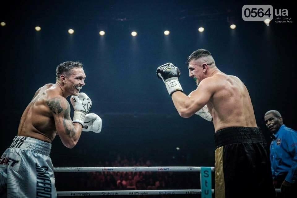 Усик нокаутировал немецкого боксера в четвертьфинале Всемирной суперсерии бокса, фото-1