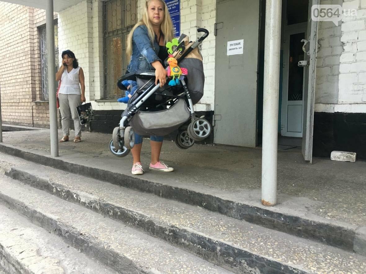 """Криворожский """"блокбастер"""": Как доехать до больницы с ребенком в коляске (ФОТО), фото-25"""