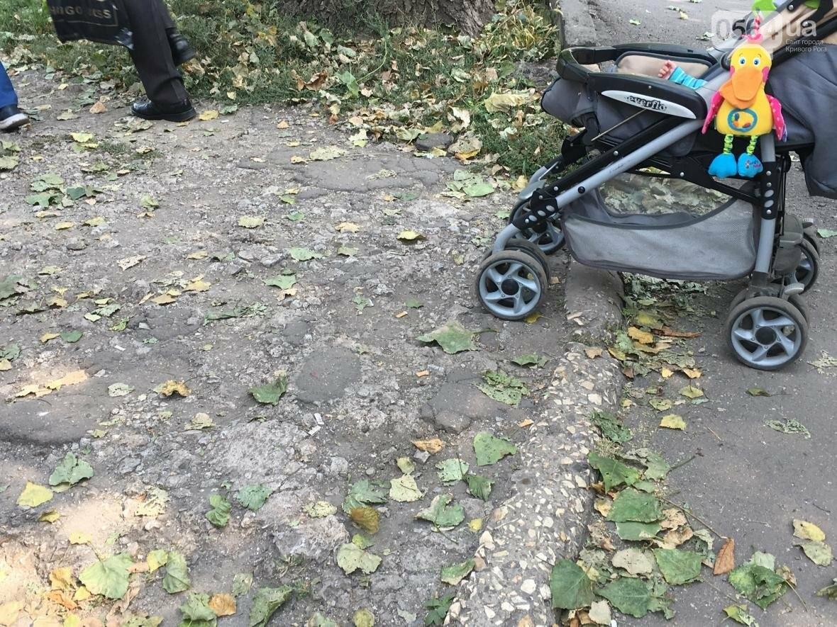 """Криворожский """"блокбастер"""": Как доехать до больницы с ребенком в коляске (ФОТО), фото-26"""