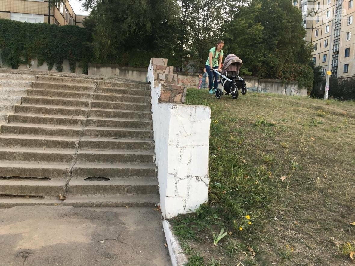 """""""Проблемы начинаются с порога"""": Как криворожанкам с колясками прогуляться и не надорваться  (ФОТО), фото-8"""