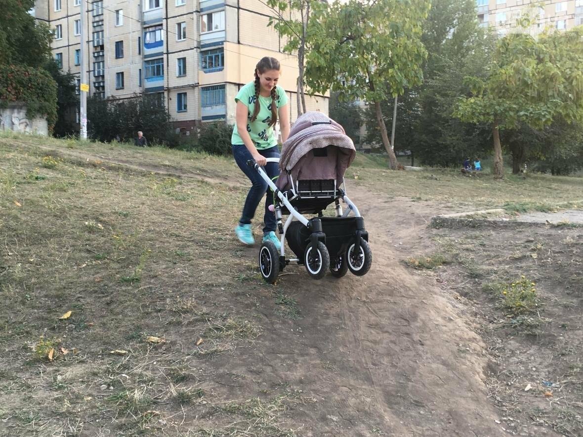 """""""Проблемы начинаются с порога"""": Как криворожанкам с колясками прогуляться и не надорваться  (ФОТО), фото-7"""