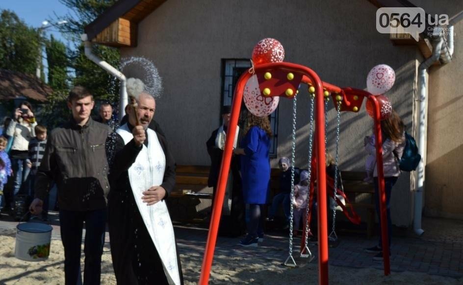 """БФ """"Каритас"""" с партнерами открыли в Кривом Роге детскую площадку (ФОТО), фото-2"""