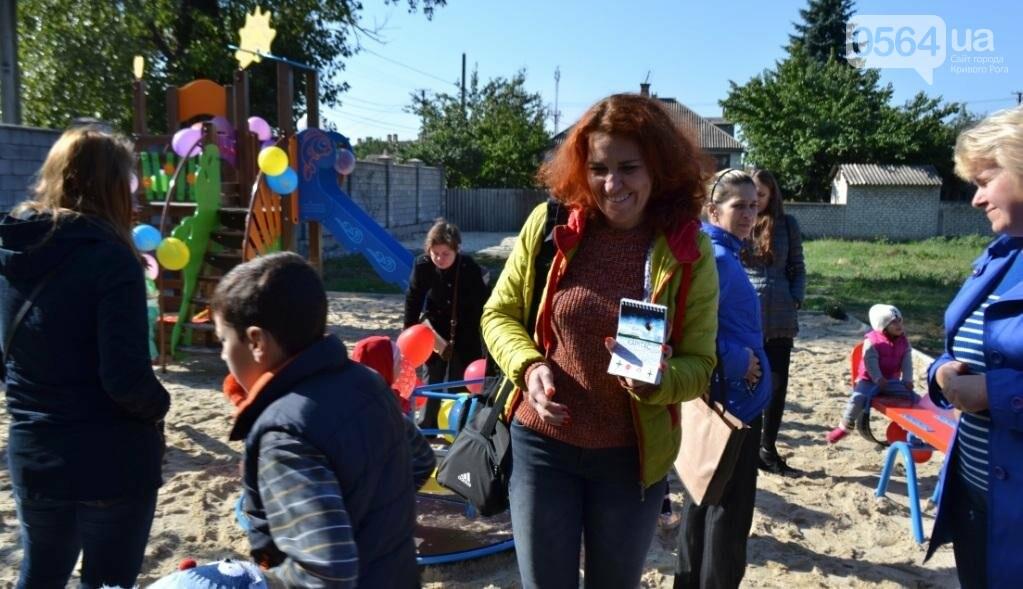 """БФ """"Каритас"""" с партнерами открыли в Кривом Роге детскую площадку (ФОТО), фото-27"""