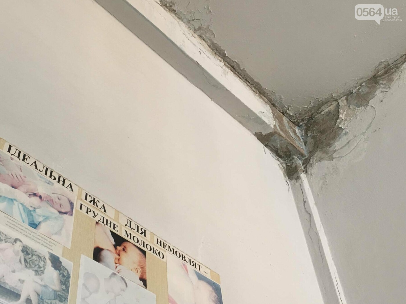 В детской поликлинике криворожане с младенцами дышат спорами грибка, ожидая в очереди (ФОТО), фото-18