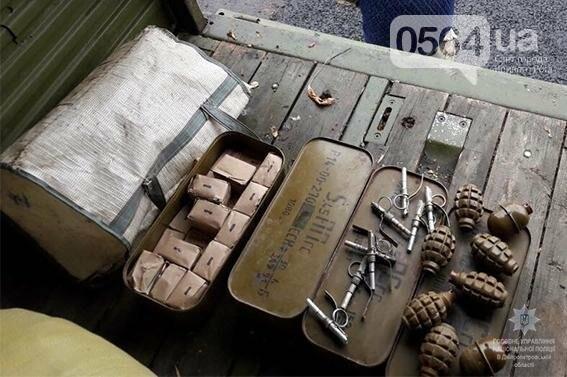 """На Днепропетровщине полиция задержала """"КАМАЗ"""" с боеприпасами (ФОТО), фото-2"""