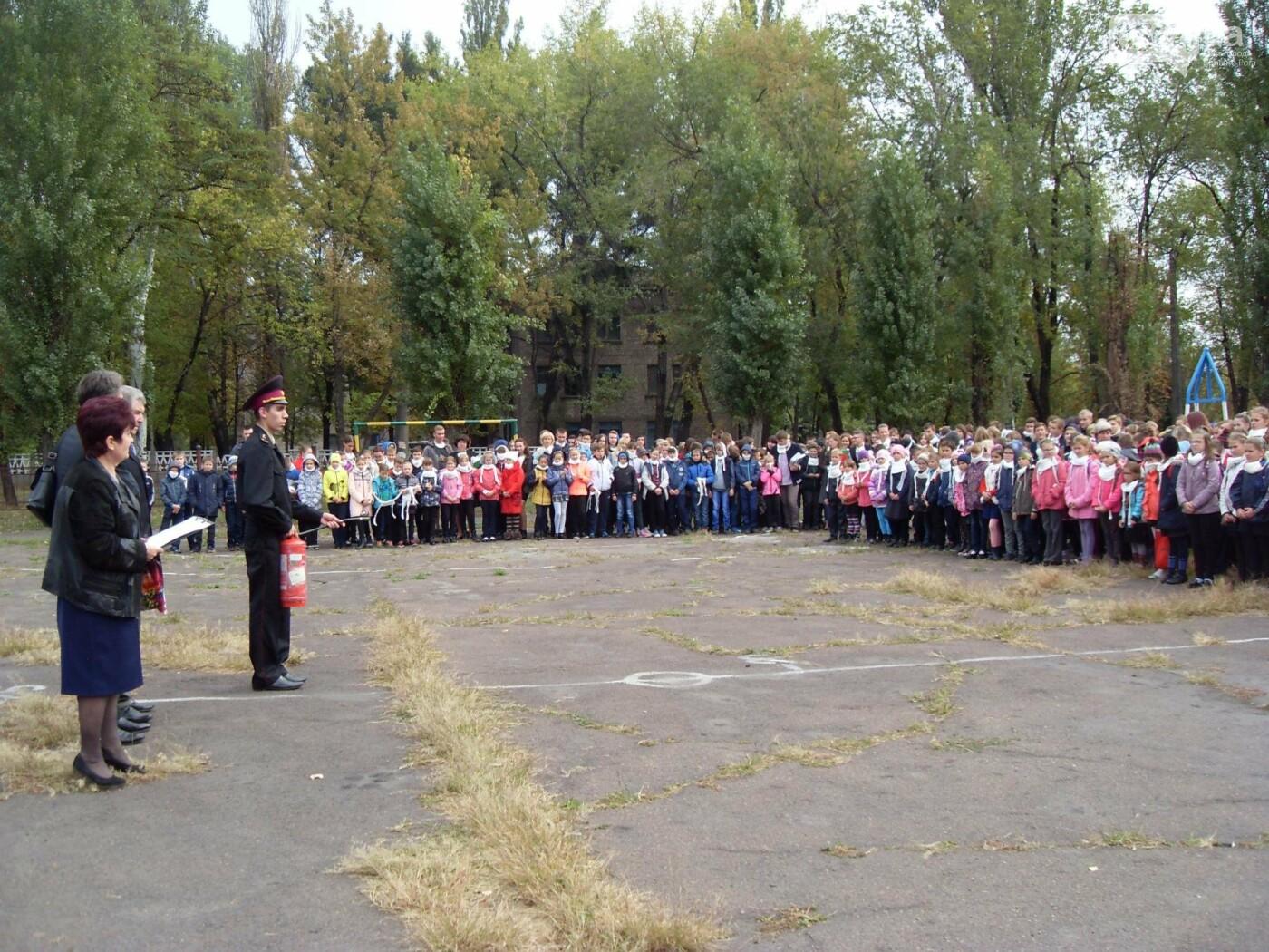 Криворожских детей учили эвакуироваться из горящих школ и детсадов (ФОТО), фото-12