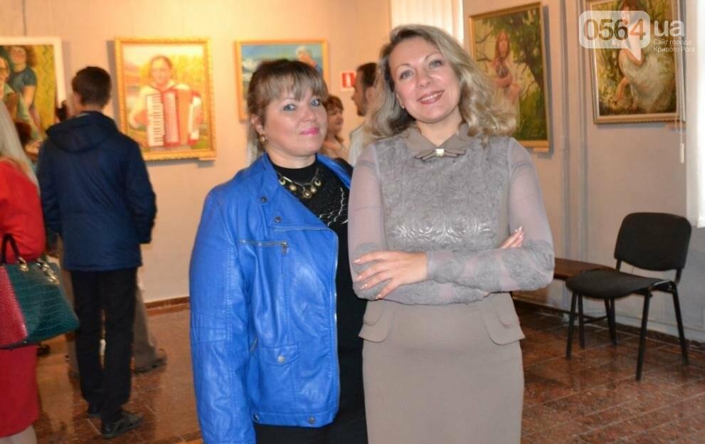 В Кривом Роге впервые открылась выставка автопортретов местных художников (ФОТО), фото-27