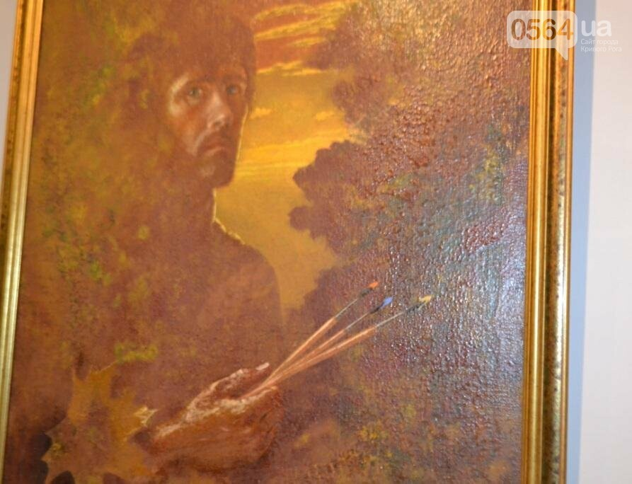 В Кривом Роге впервые открылась выставка автопортретов местных художников (ФОТО), фото-6