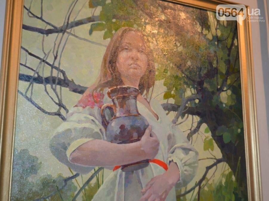 В Кривом Роге впервые открылась выставка автопортретов местных художников (ФОТО), фото-18