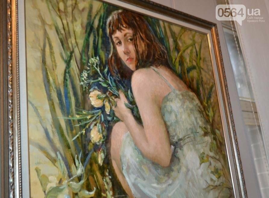 В Кривом Роге впервые открылась выставка автопортретов местных художников (ФОТО), фото-19
