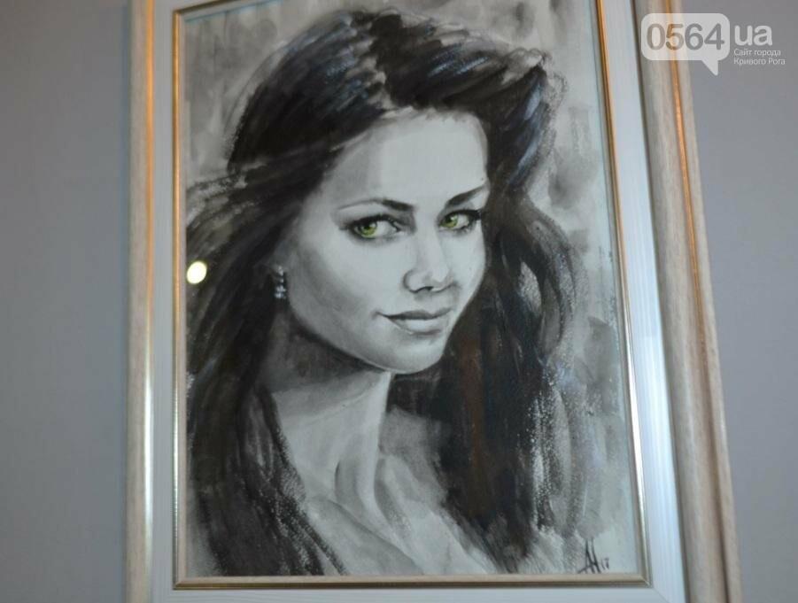 В Кривом Роге впервые открылась выставка автопортретов местных художников (ФОТО), фото-14