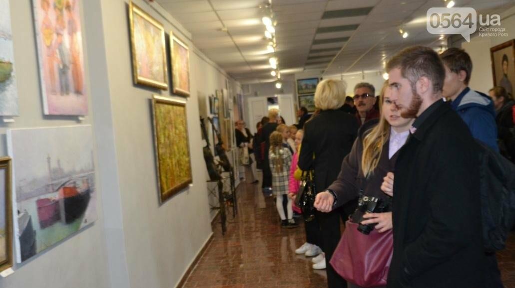В Кривом Роге впервые открылась выставка автопортретов местных художников (ФОТО), фото-21