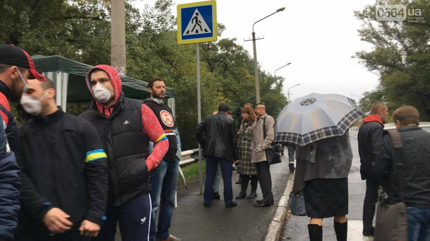 Митингующие криворожане озвучили требования к руководству АМКР (ФОТО), фото-9