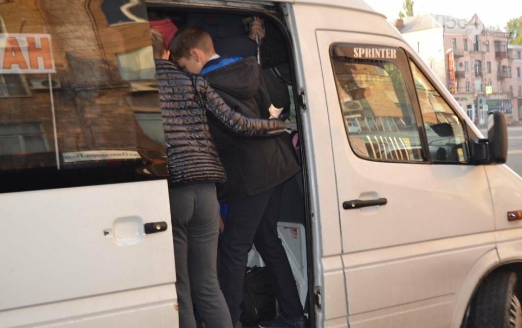 """Ни дня без стресса: Как едут на работу криворожане с """"Площади Александра Поля"""" (ФОТО), фото-14"""