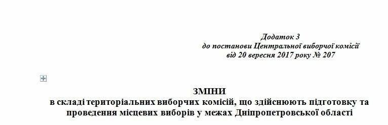 ЦИК поменяла членов Криворожской городской избирательной комиссии, фото-3