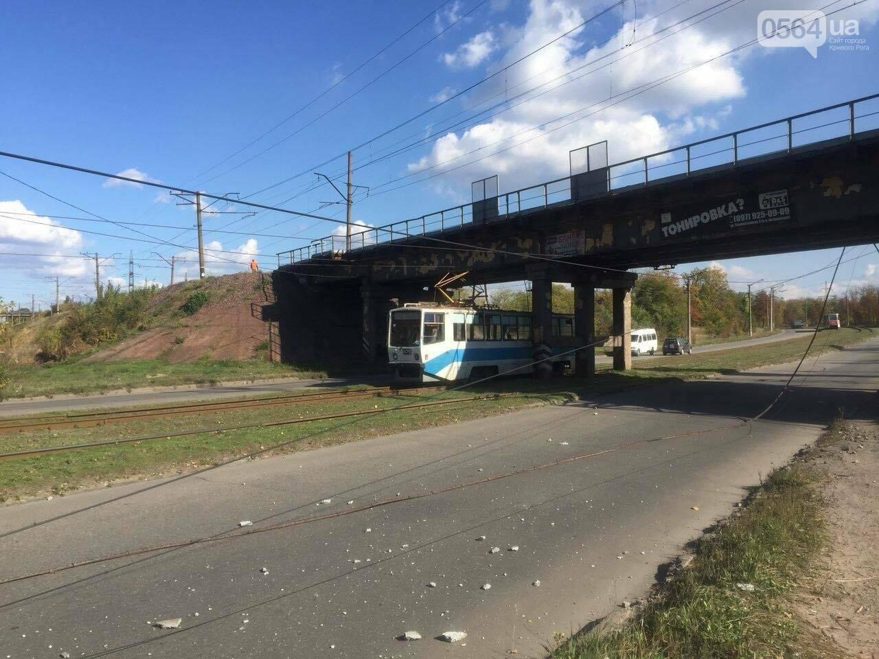 В Кривом Роге перевернулась маршрутка с пассажирами. Есть пострадавшие (ФОТО), фото-5
