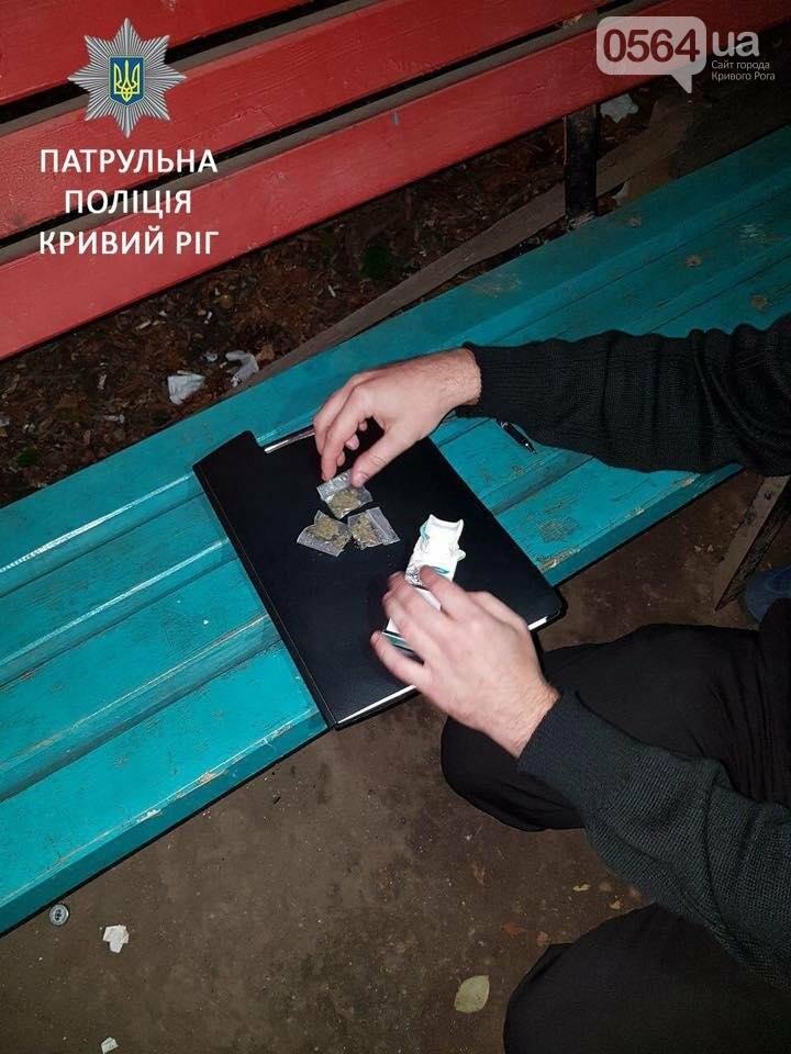 """Криворожанин отдал полицейским 5 пакетиков с """"травкой"""" (ФОТО), фото-2"""