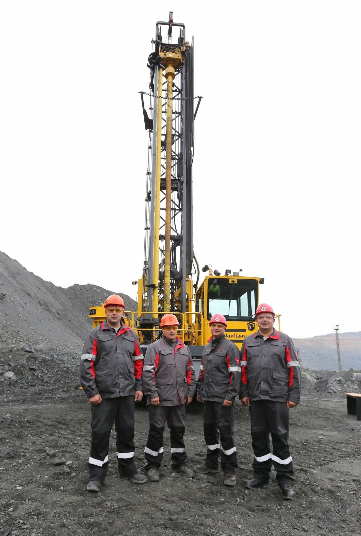 Северный ГОК инвестировал 63,4 миллиона гривен в современные буровые установки , фото-1