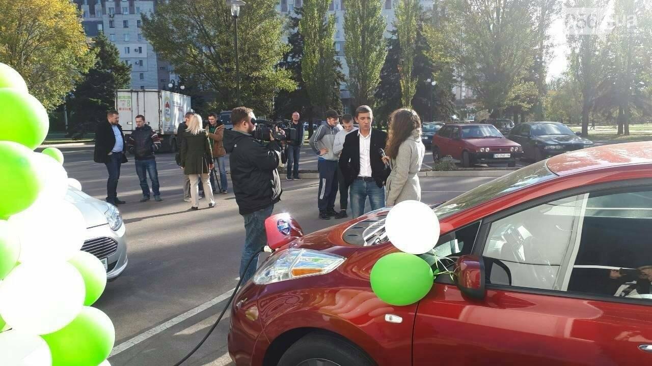 В Кривом Роге открыли заправки для электромобилей (ФОТО), фото-3